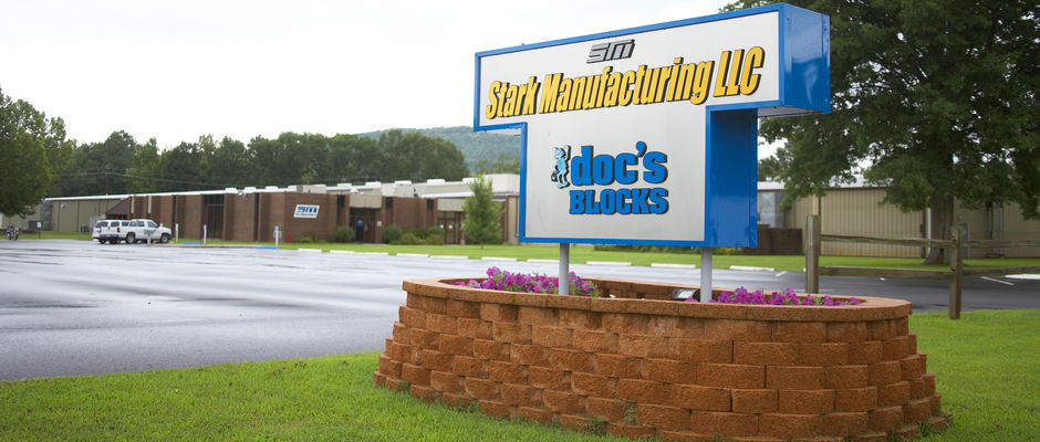 Stark Manufacturing is headquartered in Russellville, AR and has a additional manufacturing facilities in Paris, AR.