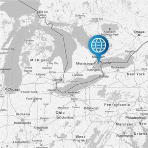 AxiSource is headquartered in Toronto, Canada.